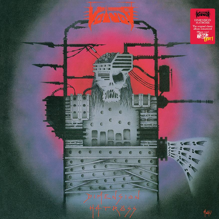 Voivod – Dimension Hatröss Cover