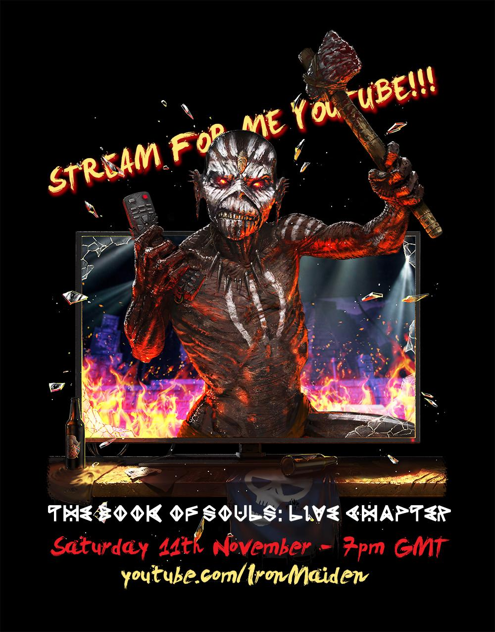 Iron Maiden YouTube stream
