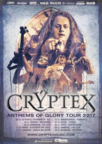 CRYPTEX 'Anthems Of Glory Tour 2017'