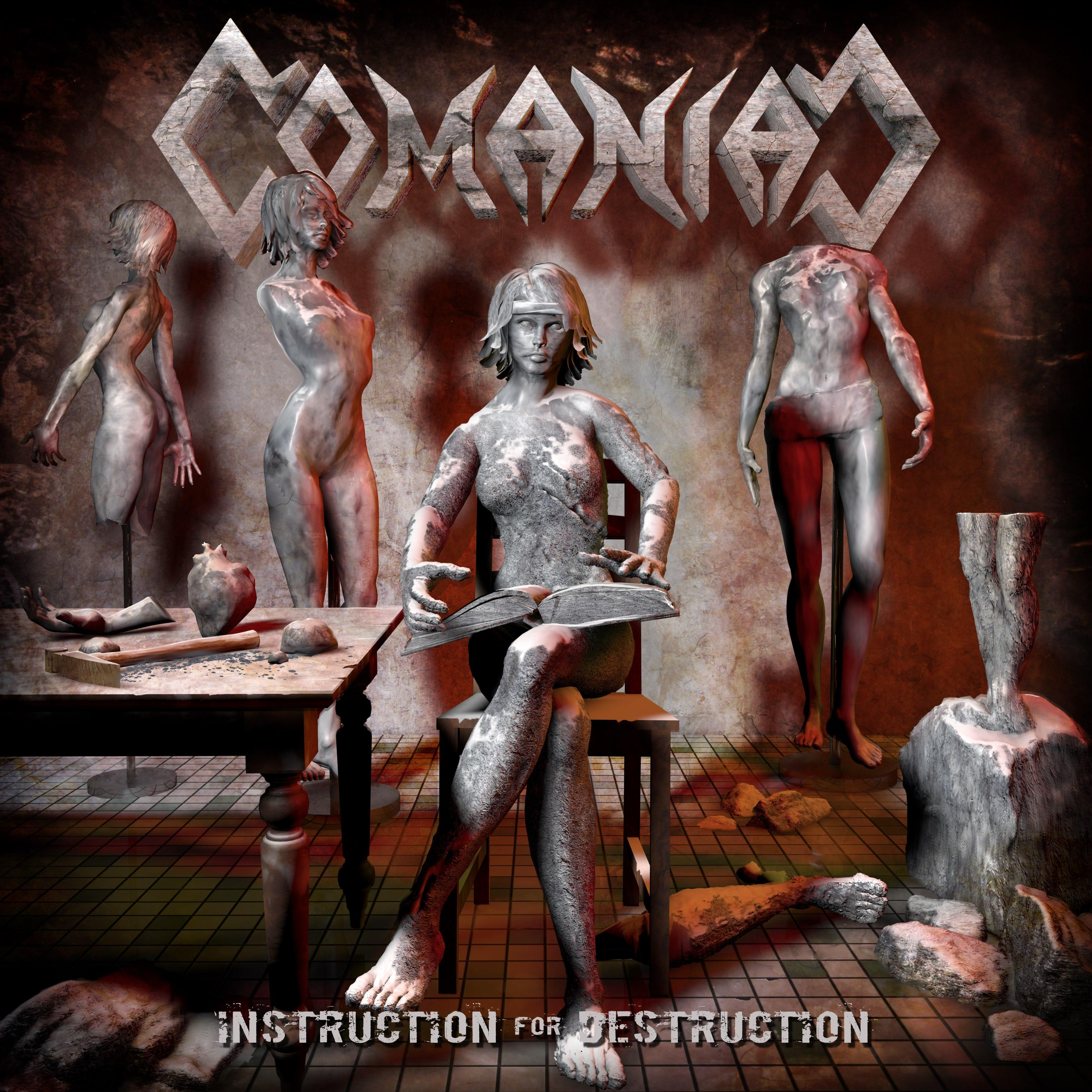 COMANIAC 'Instruction for Destruction' album cover