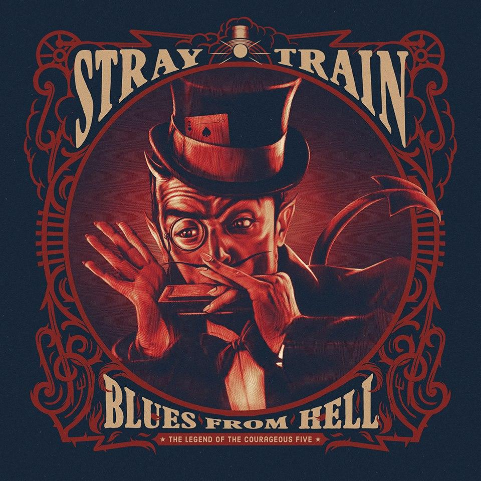 Sneak preview on STRAY TRAIN's 2017 album artwork