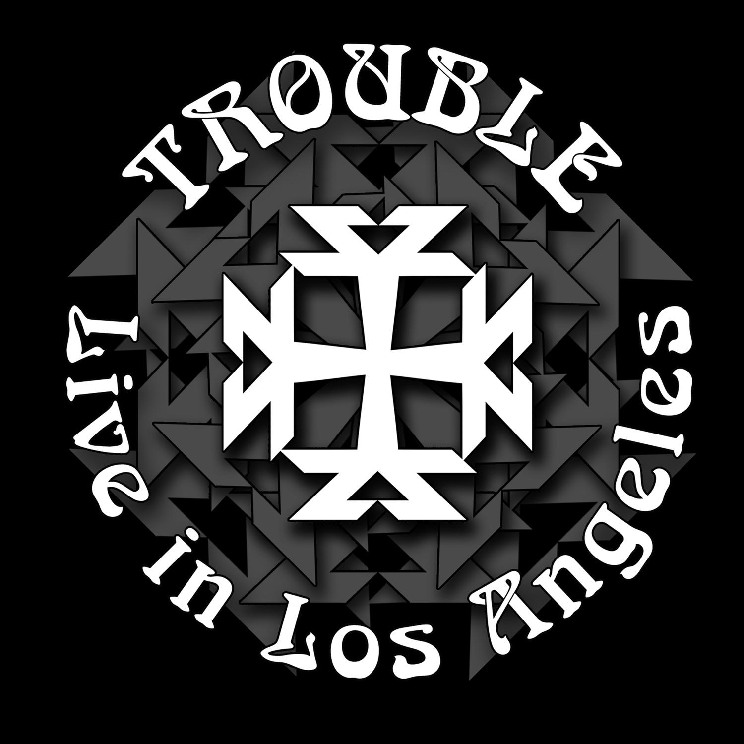 Trouble, cover art